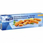 15 Bâtonnets de poisson panés 450g (15x30g) Your fish