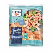 Costa crevettes du pacifique cuites décortiquées asc 300g