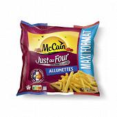 Mccain frites just au four allumettes 1.560kg