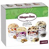 Haagen dazs mini pot obsession favorite collection 4X95ML - 318g