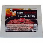 Chiron viande hachée  égrainée 20% mg 4x500g
