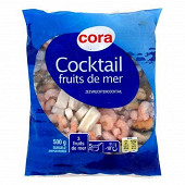 Cora cocktail de 3 fruits de mer sachet 500g