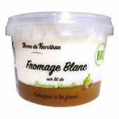 Fromage blanc bio sur lit de pomme vanille 500g