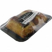 Petit pâté croûte au jambon x2 frais emballé 260g