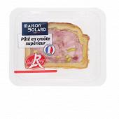 Pâté en croûte supérieur label rouge 1 tr x 100 gr
