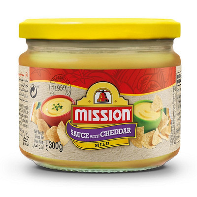 Mission Foods Mission sauce fromage 300g
