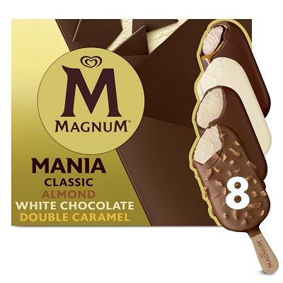 Magnum Magnum batonnets mania x 8 836ml - 626g