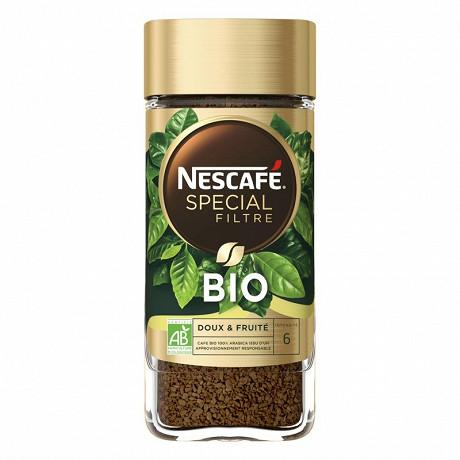 Nescafé Spécial Filtre Bio - Café soluble - 95g