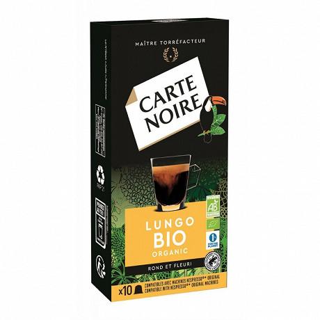 Carte Noire capsules lungo bio type nespresso x10 55g