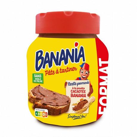 Banania pâte à tartiner sans huile de palme 750g
