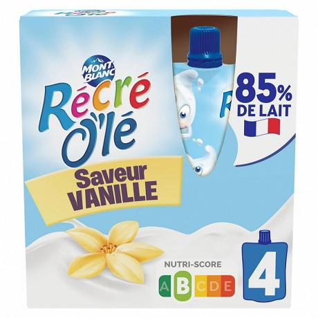 Récré o'lé vanille 4x85g