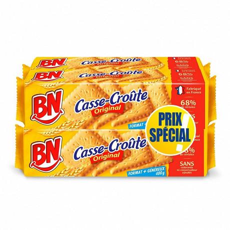 BN casse croûte lot de 4 prix spécial 1600g