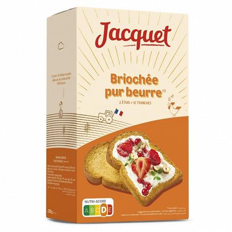 Jacquet la briochée pur beurre 250g