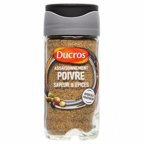 Ducros poivre saveur moulu 40g