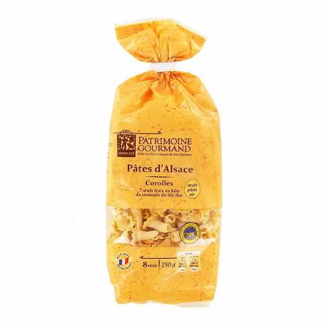 Patrimoine Gourmand pâtes d'Alsace Corolle sachet 250g