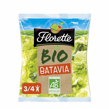 Florette salade batavia bio sachet 125g