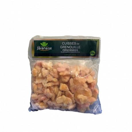 La Javanaise cuisses de grenouille désossées congelées sachet 500g