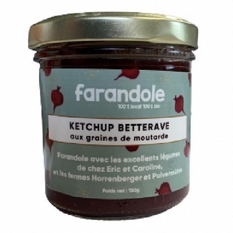 Tartinable Ketchup Betterave pot 150g 100% BIO 100% Alsace