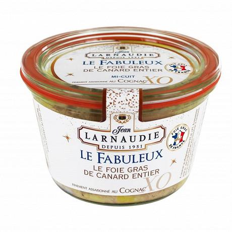 """Foie gras canard entier france """"le fabuleux"""" bocal weck 280g"""
