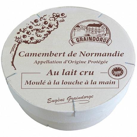 Camembert de Normandie aop au lait cru 250g