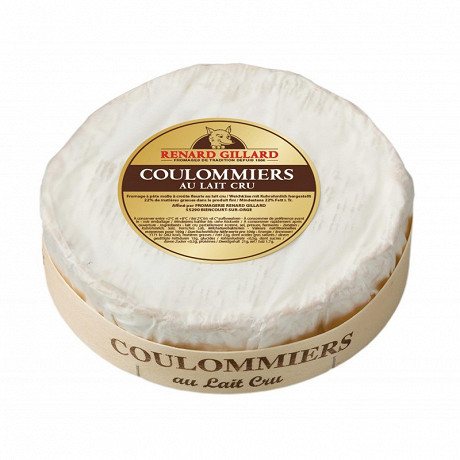 Coulommiers au lait cru de vache renard gillard  env500g