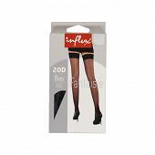 Bas clip couture Influx NOIR T3-4