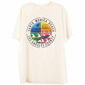 Tee shirt manches courtes homme ECRU XL
