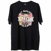 Tee shirt manches courtes homme MARINE XL