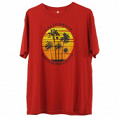 Tee shirt manches courtes homme ROUGE XL