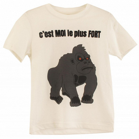 Tee shirt manches courtes ROUILLE 12 ANS