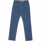 Jeans denim coupe confort zip DARKSTONE T48