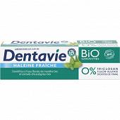 Dentavie dentifrice haleine fraîche cosmetic organic 75ml