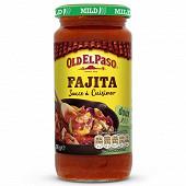 Old el paso sauce à cuisiner pour fajitas 395g