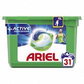 Ariel all-in-1 pods détergent active 31ct