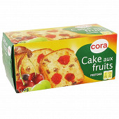 Cora cake aux fruits 300g