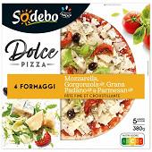 Sodebo Dolce pizza 4 formaggi 380g