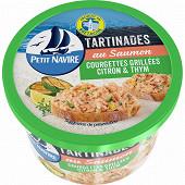 Petit Navire tartinades de saumon courgettes grillées citron thym 125g