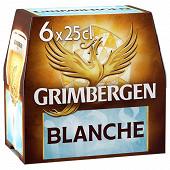 Grimbergen blanche 6x25cl 6%vol